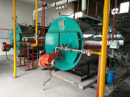 0.5-20T High Efficiency Horizontal Gas Boiler With Good Performance Burner