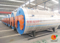 High Efficiency Oil Fired Hot Water Boiler Three Pass Structure 0.1- 20 Tons