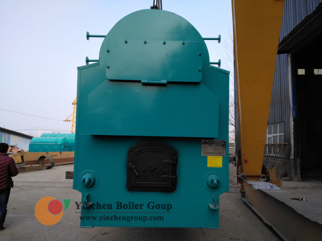 High Efficiency Hand Fired Boiler Equipment With Big Boiler Door 1-4 t/h