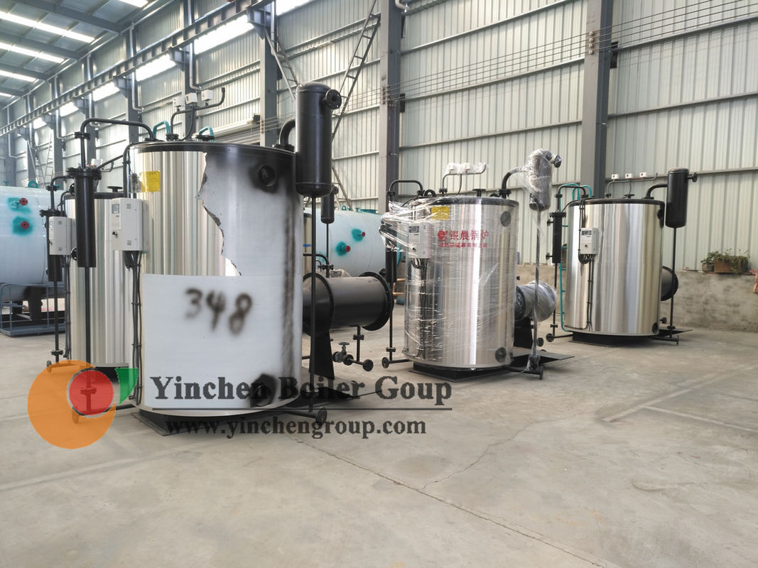 Small Commercial Laundry Vertical Fire Tube Boiler Diesel Fired Steam Generator